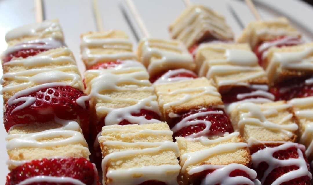 Summer on a Stick: Strawberry Shortcake Kabobs