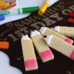 Back To School Pencil Wafer Cookies 1