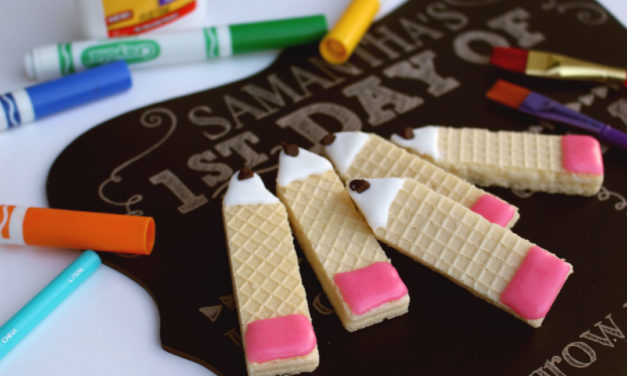 Back To School Wafer Cookies