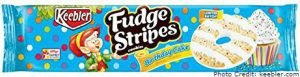 Birthday Cake Fudge Stripes