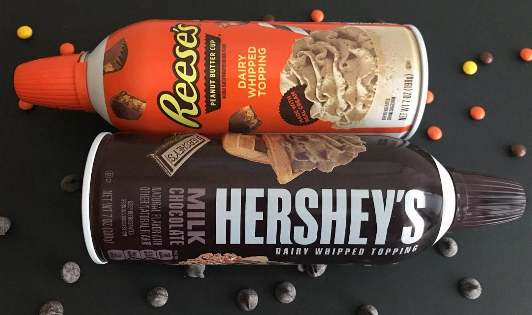 Reese's and Hershey's Whipped Cream Review