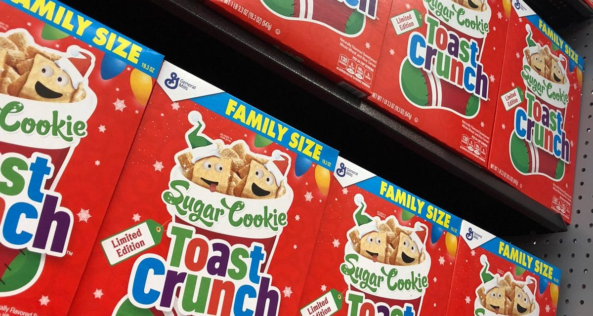 Sugar Cookie Toast Crunch Review – by DadBodSnacks