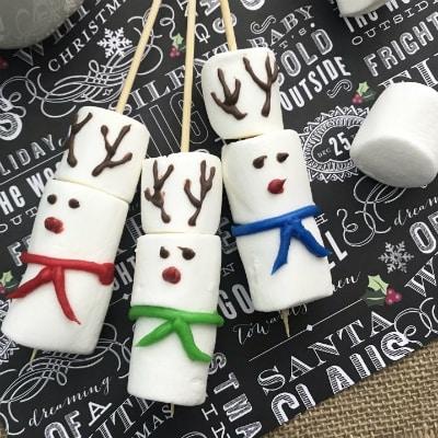 Reindeer Marshmallow Stirrers