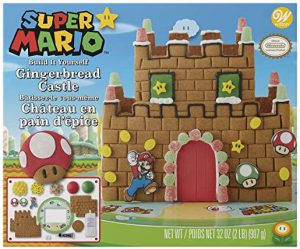 Super Mario Gingerbread House
