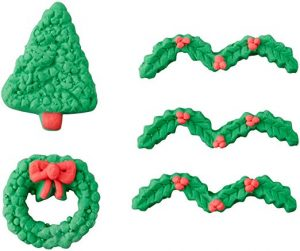Tree and Wreath Candy Decorations